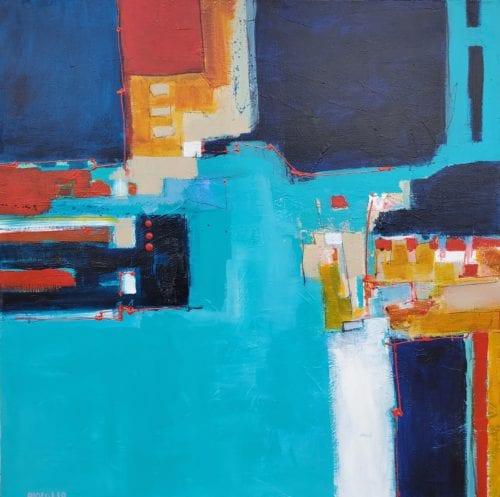 Joe DiGiulio - Columbia Blue 30x30