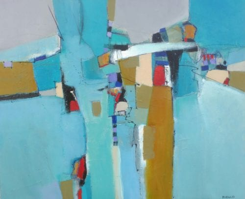 Joe DiGiulio - Crystal Blue 48x58